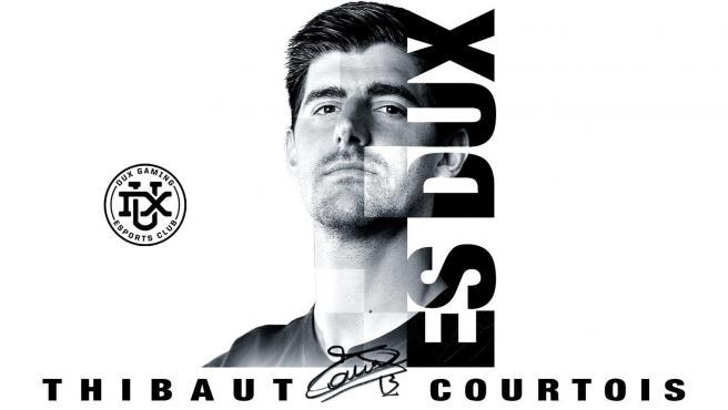 Imagen del equipo de eSports de Courtois