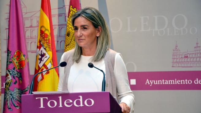 La alcaldesa de Toledo, Milgros Tolón.