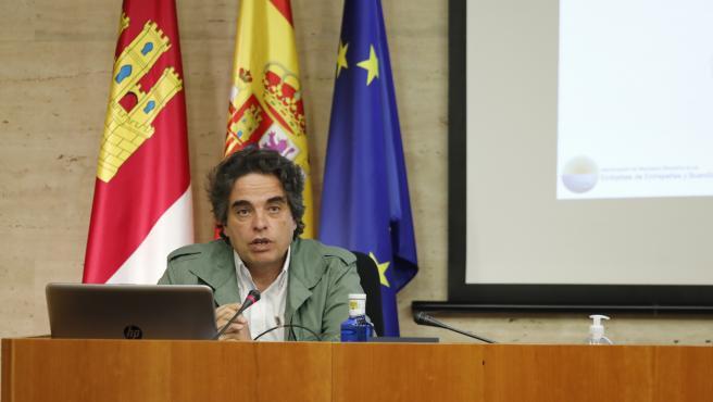 Miguel Ángel Sánchez, De Los Municipios Ribereños, En La Comisión Sobre Despoblación En Las Cortes
