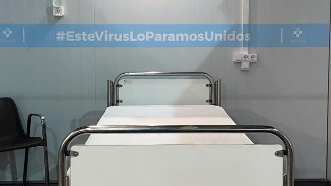Nota Prensa, Foto Y Audios Gerente Sespa Hospital Provisional Recinto Ferial 'Luis Adaro'