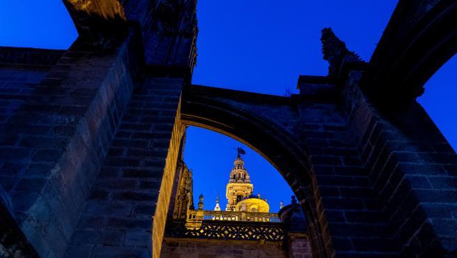 Vista desde las cubiertas de la Catedral de Sevilla