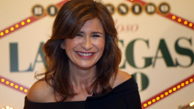 Gema López durante un acto en el bingo Las Vegas de Madrid en el 2016.