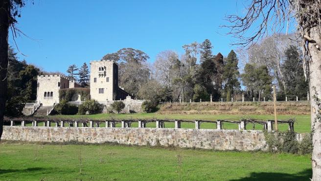 Pazo de Meirás (Sada), en A Coruña, propiedad de los herederos de Francisco Franco