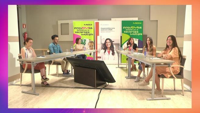 Reunión virtual de neurólogos del Hospital Macarena con pacientes de esclerosis múltiple