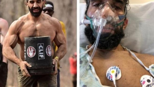 Ahmad, en las imágenes difundidas por la Johns Hopkins.