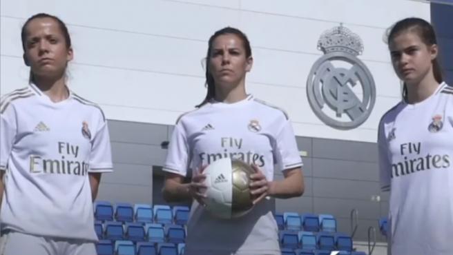 Una imagen del vídeo de presentación del equipo femenino.