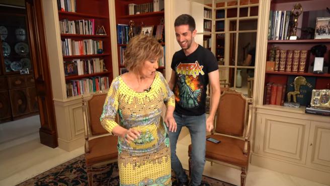 María Teresa Campos y Broncano perreando en YouTube.