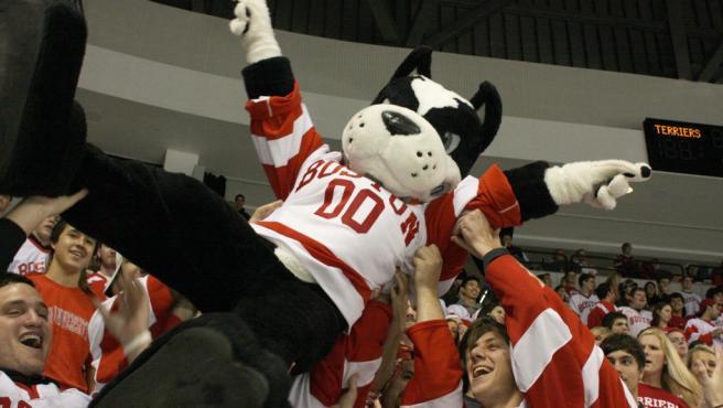 Rhett, mascota del Boston University College