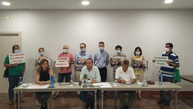Rueda de prensa de la plataforma Aparcamientos Córdoba.