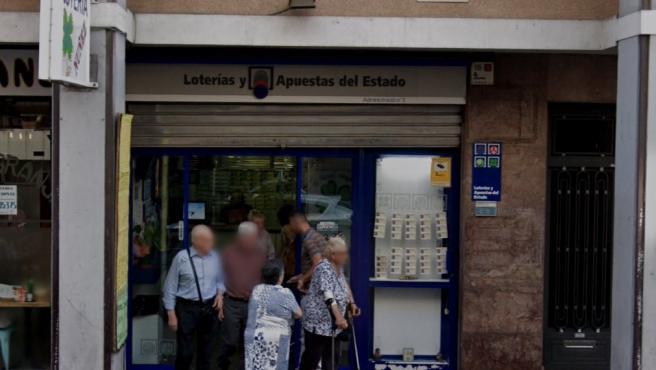 Administración de Loterías en L'Hospitalet de Llobregat.