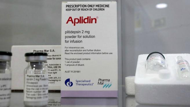 Imagen de archivo del fármaco Aplidin de PharmaMar.