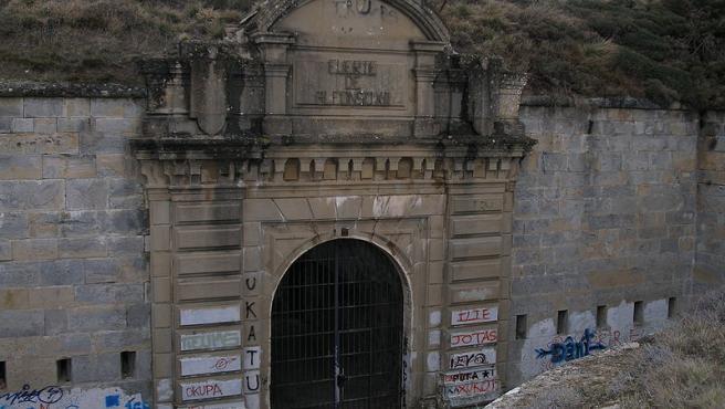 Entrada del fuerte de Alfonso XII o de San Cristóbal.