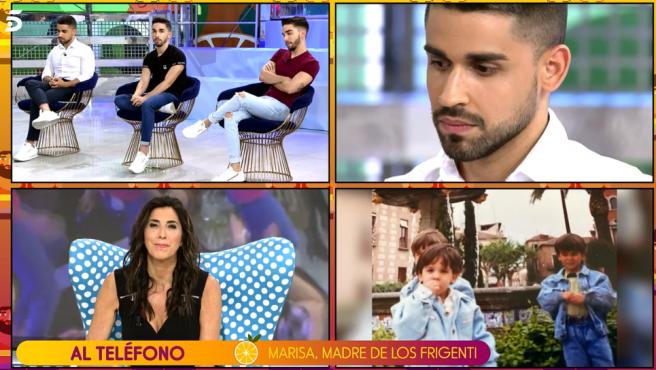 Paz Padilla entrevista a la madre de Miguel Frigenti.