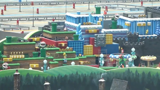 Super Nintendo World, el parque temático de Super Mario Bros en Japón.