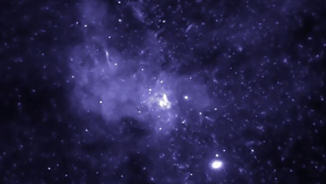 Imagen de archivo del centro de la Vía Láctea.