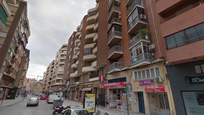 El número 25 de la calle Baños en Albacete, donde se ha confirmado un brote de coronavirus.