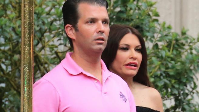 Kimberley Guifoyle y Donald Trump Jr, en una imagen de archivo.