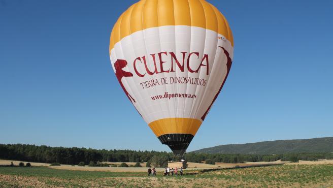 Los vuelos en globo sobre cuenca retornan con la nueva normalidad garantizando desinfección y uso de mascarilla
