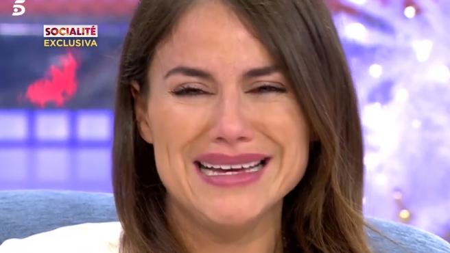 Imagen de la colaboradora de Telecinco, Mónica Hoyos.
