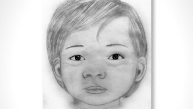 Retrato de la niña de dos años encontrada muerta en México.
