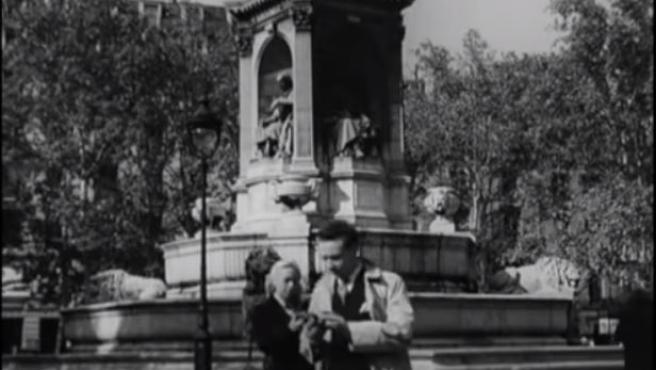 Fotograma de la película 'Télévision œil de demain'.