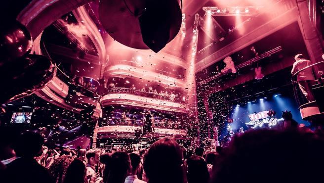 Interior del Teatro Kapital en Madrid en una imagen de archivo.