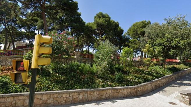 Parque Palomar, en el barrio de Las Delicias de Zaragoza.
