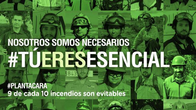 Campaña 'Tú eres esencial'