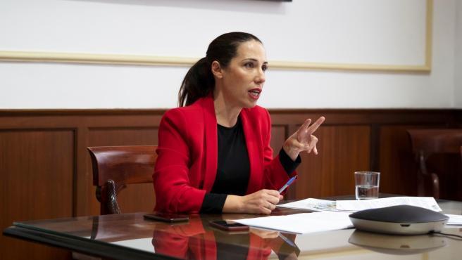 La alcaldesa de Santa Cruz de Tenerife, Patricia Hernández, participa en el evento 'La transformación de las ciudades en el Día Después'