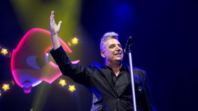 El músico y cantante José María Sanz, 'Loquillo', en el Wizkink Center de Madrid.