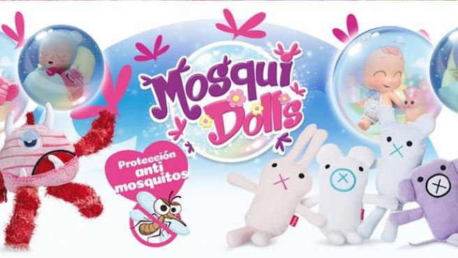 Mosquidolls, muñecos para repeler los mosquitos.