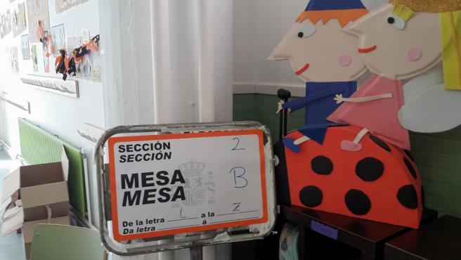 Colegio electoral gallego.