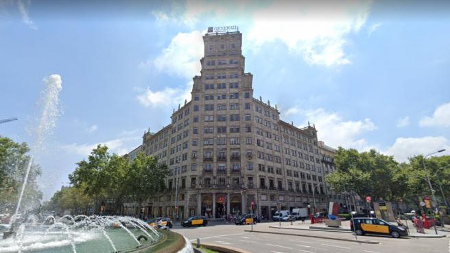 Edificio del consulado argentino en Barcelona.