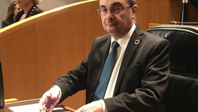 Foto de archivo del presidente del Gobierno de Aragón, Javier Lambán.