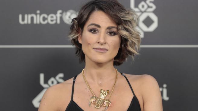 La cantante Barei posa en Los40 Music Awards 2018, en Madrid.