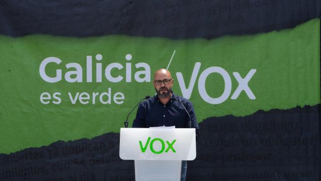 Ricardo Morado, cabeza de lista de Vox por A Coruña.