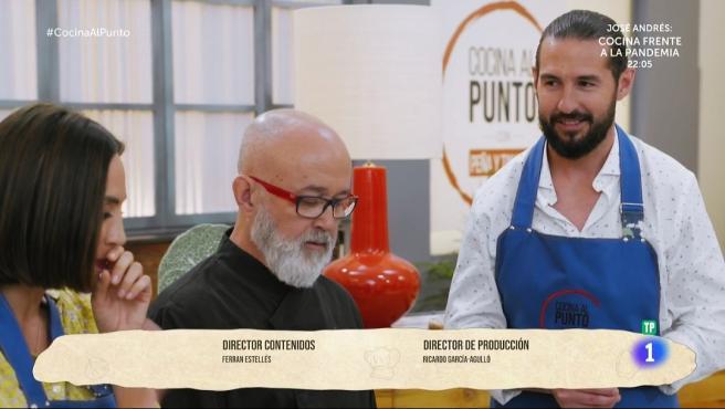 Tamara Falcó y Javier Peña presentan el programa de cocina 'Cocinando.