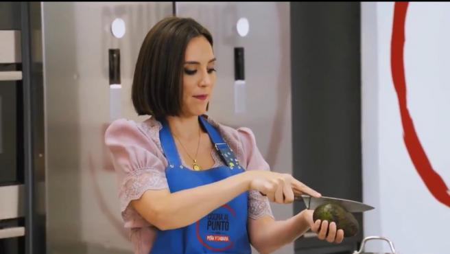 Tamara Falcó estrena un nuevo programa de cocina en TVE.