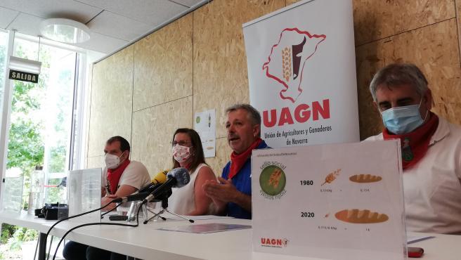 El presidente de UAGN, Félix Bariáin