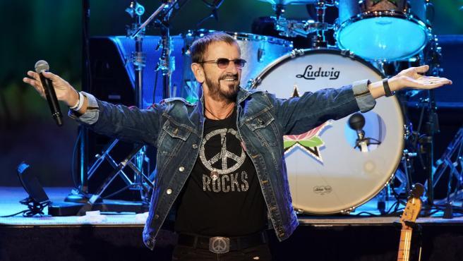 Ringo Starr, en el Woodstock Festival en New York, en 2019.