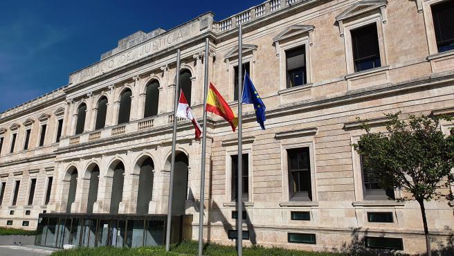 Sede del Tribunal Superior de Justicia de Castilla y León, en Burgos. Archivo