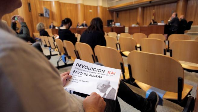 Comienza el juicio por la propiedad del Pazo de Meirás