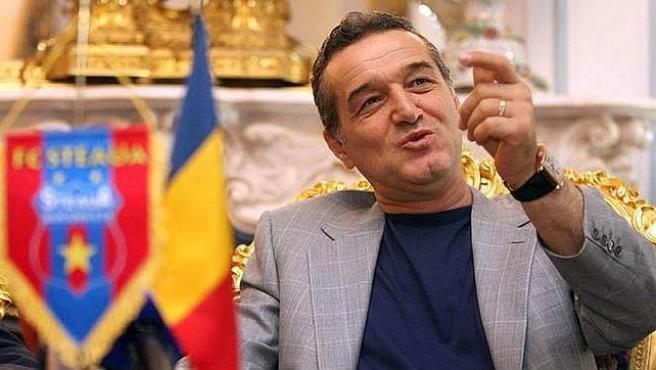 George 'Gigi' Becali, presidente del Steaua de Bucarest