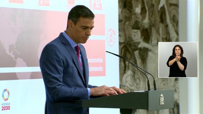 Sánchez presenta un plan de choque de impulso a la ciencia
