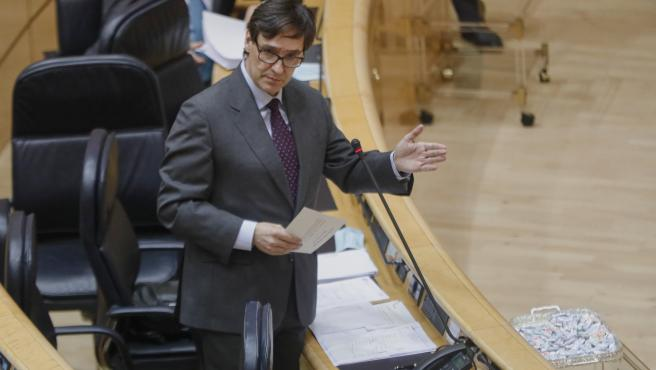 El Ministro de Sanidad, Salvador Illa (Archivo)