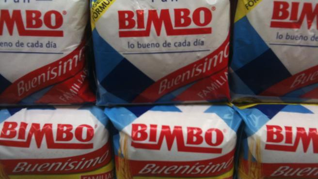 Pan de molde de la marca Bimbo.