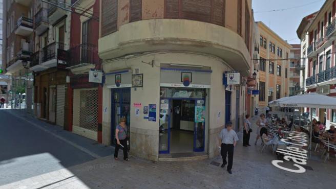Administración de Loterías en Alzira, Valencia.