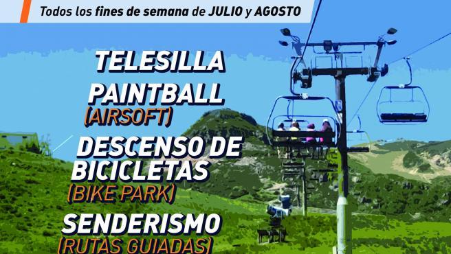 Cartel promocional de 'Veranu en Payares'