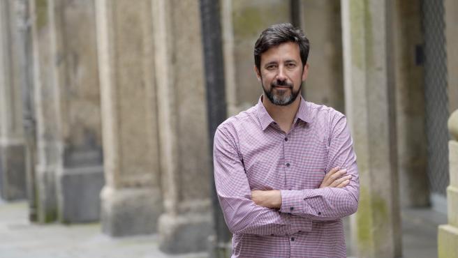 Entrevista Antón Gómez-Reino, candito Podemos elecciones autonómicas 12 julio 2020