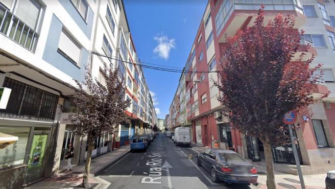 Imagen de archivo de una calle del barrio de A Milagrosa, en Lugo.